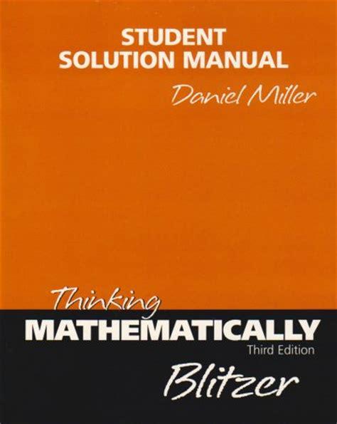 thinking mathematically 6th edition thinking mathematically textbooks slugbooks