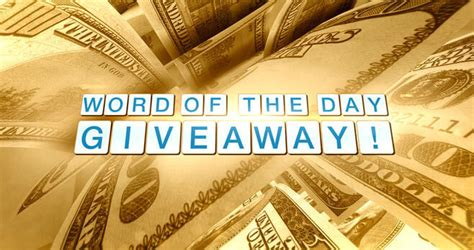 Thedoctorstv Giveaways - the doctors word of the day giveaway 2017