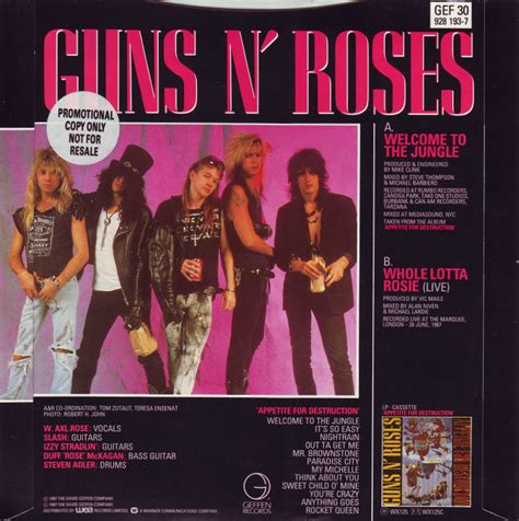 guns n roses whole lotta rosie mp3 download 45cat guns n roses welcome to the jungle whole