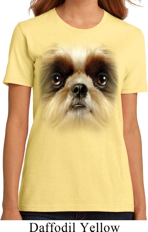 shih tzu apparel shih tzu shirt big shih tzu organic t shirt big shih tzu shirts