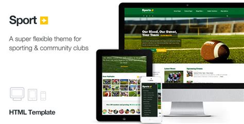22 Sports Html Website Templates Free Premium Download School Club Website Template