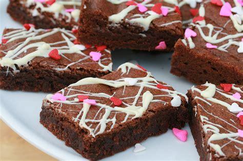 valentines brownies food librarian
