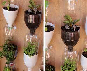 Diy recycled plastic bottles for garden decor recycled things