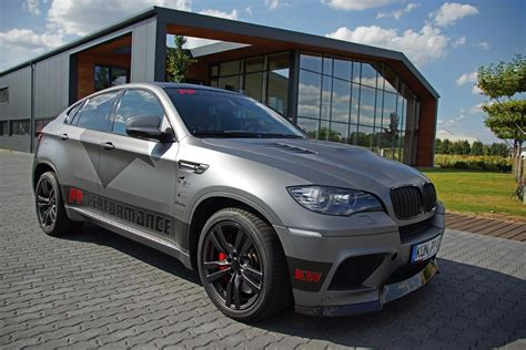 bmw custom pp performance bmw x6 m gets custom wrap at cam shaft