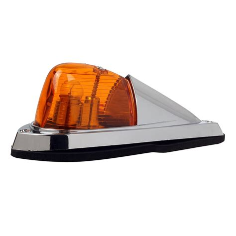 led marker lights for semi trucks 5x universal teardrop style cab roof clearance