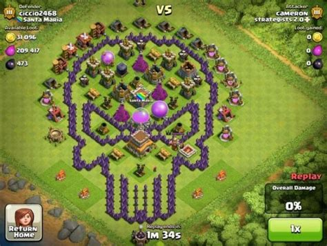 layout coc batman clash of clans ın trolllerinden g 252 ld 252 ren k 246 y d 252 zenleri