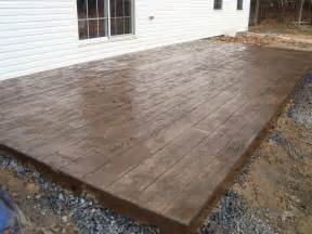 sted concrete patios cost