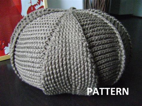 crochet pattern for pouf ottoman pdf pattern large crochet pouf poof ottoman footstool