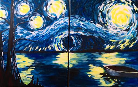 Starry Nite by Starry Nite Couples Paint Prints And