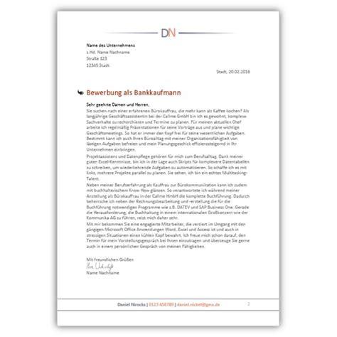Anschreiben Bewerbung Filialleiter Bank Bewerbungsdesign Vorlagen 2016 Mit 252 Ber 80 Erfolgsquote Jobguru