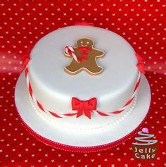 simple christmas cake decoration ideas happy holidays