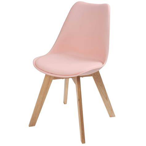 Chaise Scandinave Rose Pastel Ice Maisons Du Monde Chaise Bureau Scandinave