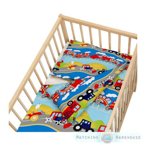 Crib Bedding Size by Childrens Cot Size Duvet Cover Pillowcase Nursery Baby