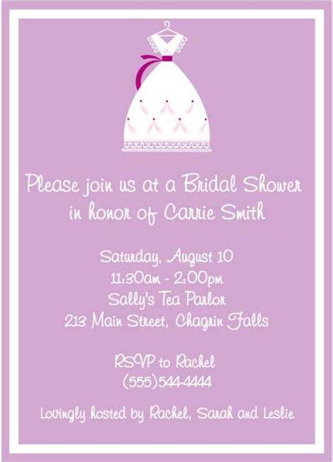 bridal shower invitation dress code invitation card dress code images invitation sle and invitation design