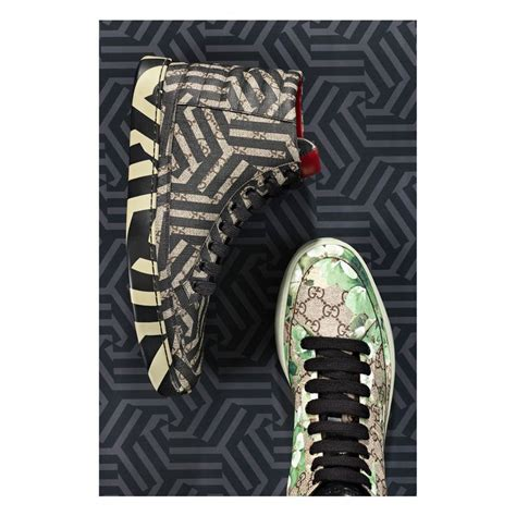 Top Gucci 17 17 best images about gg caleido and blooms on cas leather totes and sneakers
