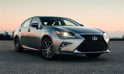 lexus es300 hybrid 2016 lexus es 350 es 300h get updated with sportier look