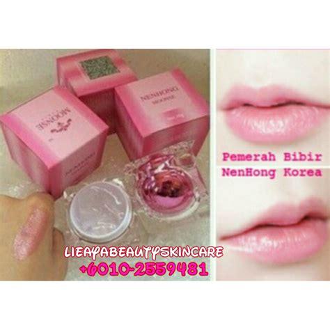 Original Nenhong Korea Nenghong Pemerah Bibir Alami bibir merah dengan nenhong moonse murah