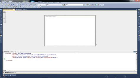 xaml default layout tutorial wpf application c using the grid layout