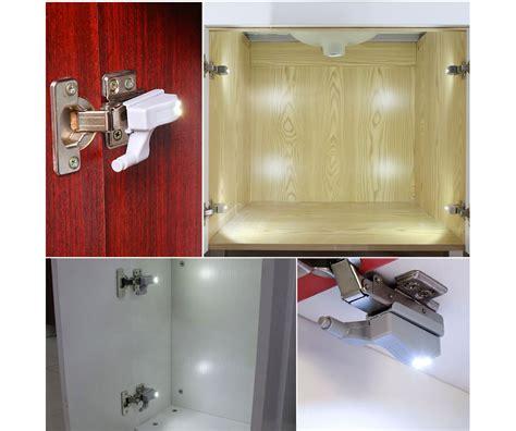 led cabinet light door switch 10pcs led hinge night light universal inner hinge led