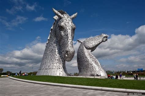 Horse Outside by The Kelpies