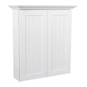 white storage cabinets at home depot masterbath cottage 24 in bath storage cabinet in satin