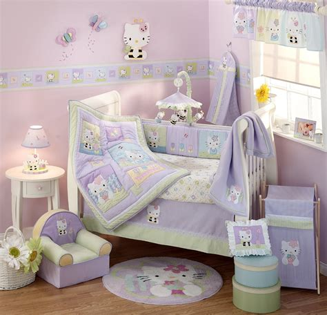 Lambs And Ivy Hello Kitty And Friends Baby Bedding Baby Lambs And Hello Crib Bedding