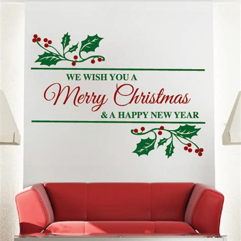 merry christmas wall quote trendy wall designs