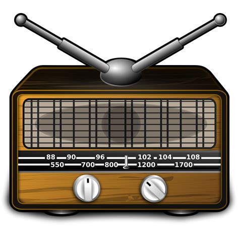 Old Radio SVG Clip arts download   Clip arts free png