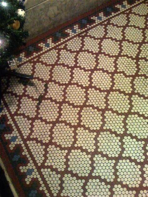 17 Best ideas about Penny Tile Floors on Pinterest