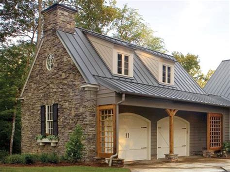 round garage plans stonework and colonial 6 6 windows shed roof dormers with