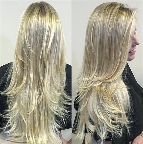 blonde hairstyles long layers 80 cute layered hairstyles and cuts for long hair blonde