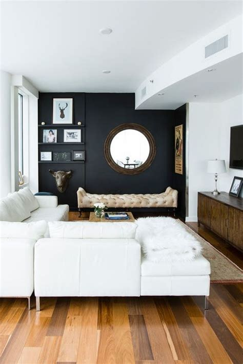 rooms with black walls 26 gorgeous living rooms with black walls digsdigs