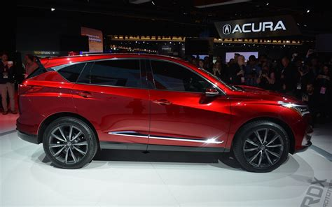 acura rdx new design 2019 acura rdx showing new design language with clean