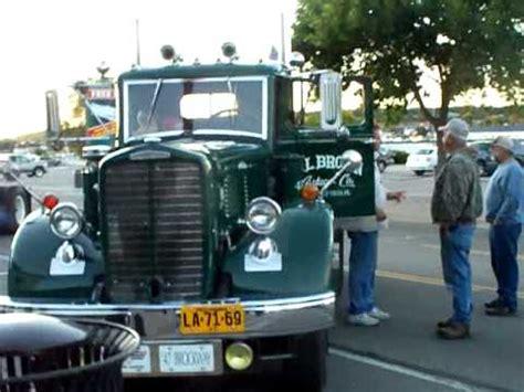 truck shows in michigan semi truck at st ignace michigan truck 2011
