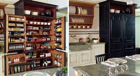 Shelves Instead Of Kitchen Cabinets by A Diversity Of Door Styles To Hide Your Pantry With