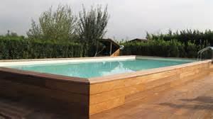 piscina fuori terra offerte piscine fuori terra rigide piscine in legno fuori terra