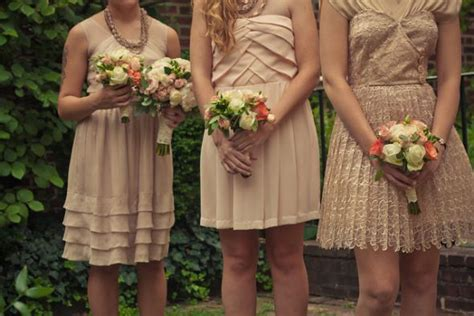 show me the color show me your mismatched bridesmaid dresses in coral