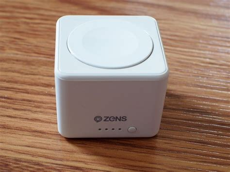 Powerbank Apple review zens apple power bank is pocket sized and ultra portable thanks to built in