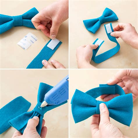 How To Make A Bow Tie Out Of Tissue Paper - put a bow on it 10 ways to use felt bows brit co