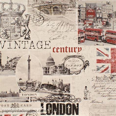 imagenes vintage londres papel pintado funny walls 257 5605 con im 225 genes de londres