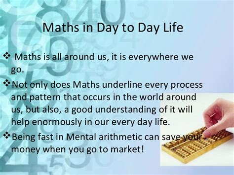 importance of math in daily life youtube