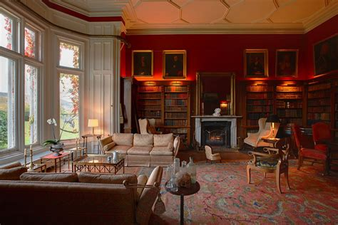 Scottish Baronial Style Interiors by Lord Belmont In Northern Ireland Gurteen Le Poer
