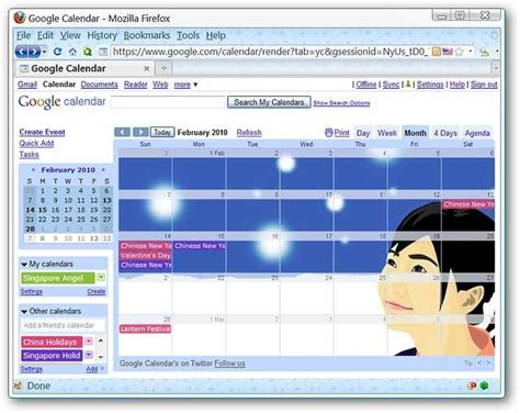Calendar Extension Firefox Access Calendar In Firefox The Easy Way