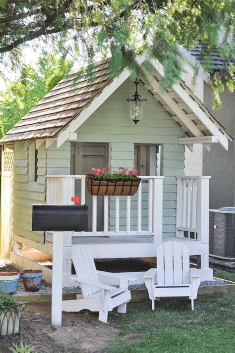 diy playhouse diy playhouse ideas for your ones just craft diy projects