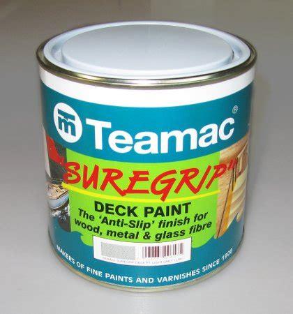 teamac suregrip anti slip marine paint fyne boat kits