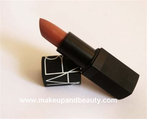 Nars Lipstick Pigalle nars lipstick in pigalle semi matte review
