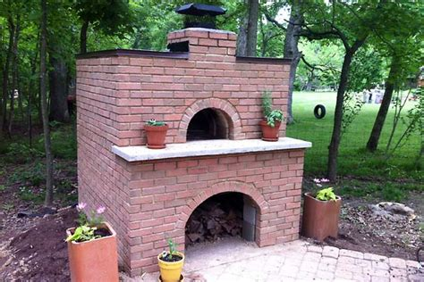 backyard brick oven woodcraft salem oregon homemade outdoor wood stove plans