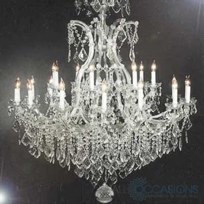 large chandeliers theresa large chandelier all occasions rental