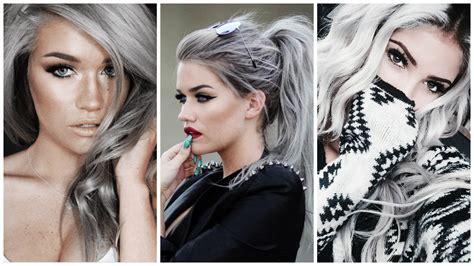 photo cheveux cheveux gris 27 des plus belles coiffures cheveux gris