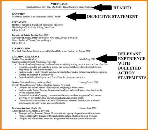 Student Resume Objective Statement 4 Career Objective Sle For Cv Cashier Resumes